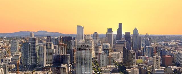 Západ Slnka Seattle