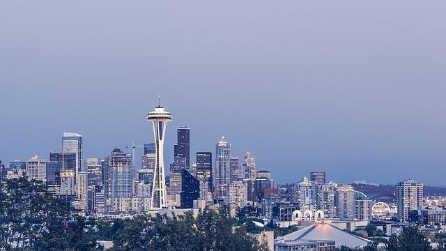 Pohľad na Seattle