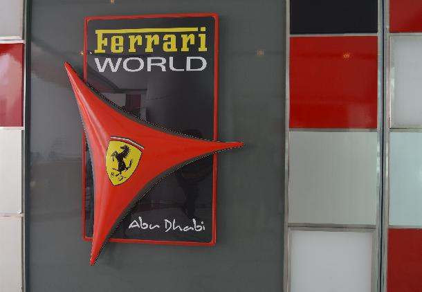 Ferrari World silver
